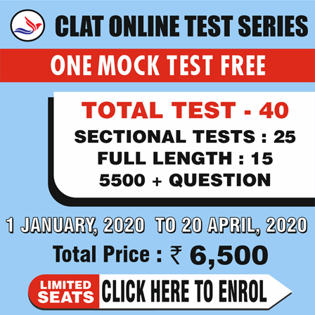 Clat Online 40 Tests Series-Combo Pack