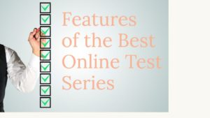 features of online test